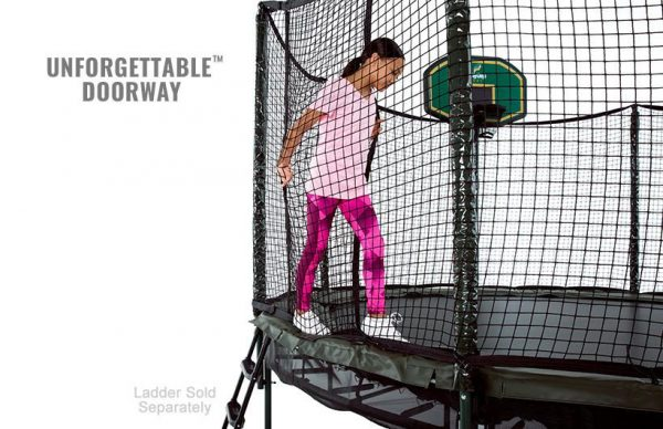 DoubleBounce 14' Trampoline with Enclosure