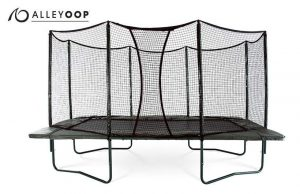 VariableBounce 10'x17' Rectangular Trampoline with Enclosure