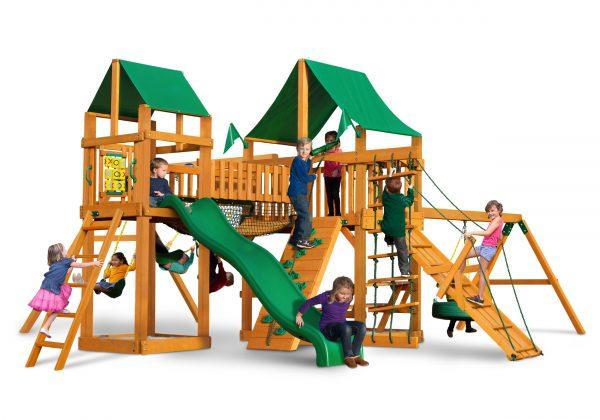 Play Nation Horizon w/ Clatter Bridge, Tower & Tire Swing