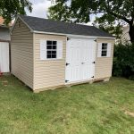 Vinyl shed in Long Island NY.