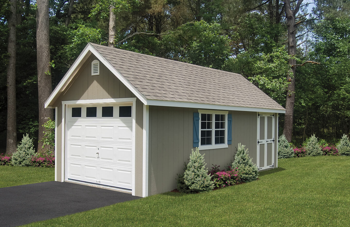 Custom storage garage in Long Island NY.