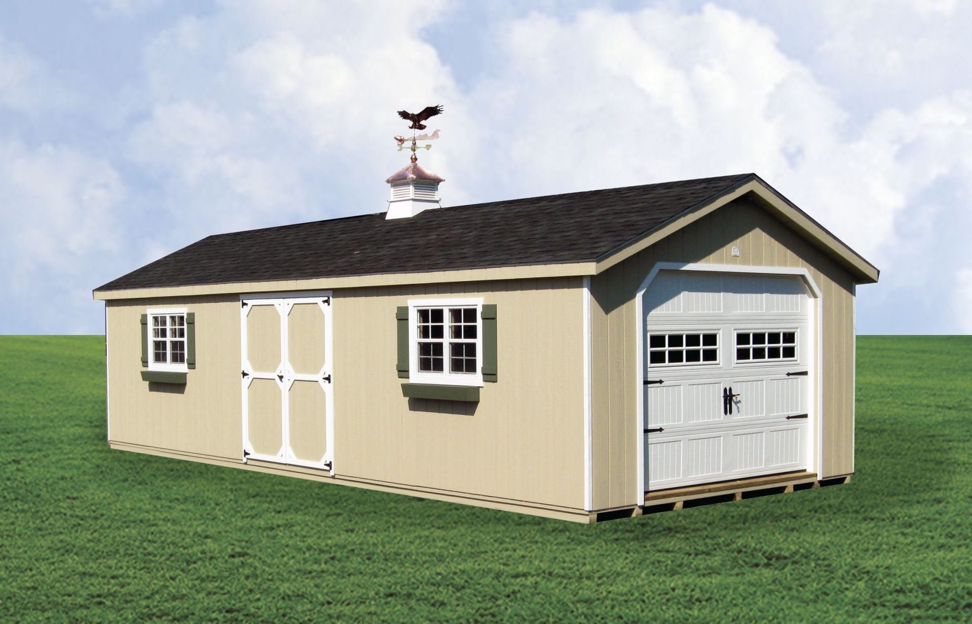 Custom storage garage in Long Island, NY.